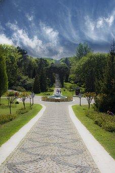 Park, Turkey, Istanbul, Blue, Landscape, Beautiful