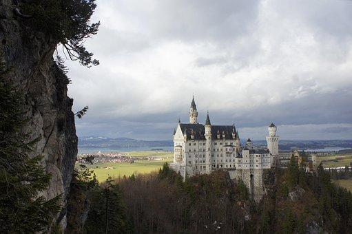 Castle, Kristin, Allgäu, Mountains, Fairy Castle