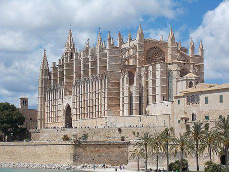 Cathedral Of Saint Mary, Palma, Mallorca, Spain