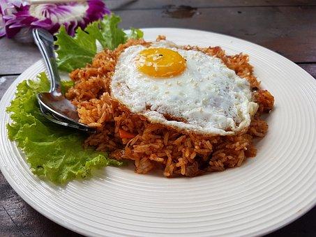 Thailand, Gourmet, Krabi, Dish, Rise, Catering, Egg