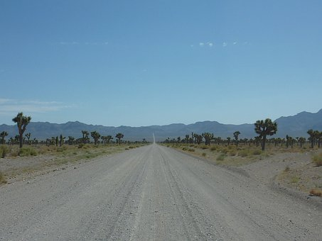 Area 51, Dust, Road, Wide, Flat, Nature, Road Dust
