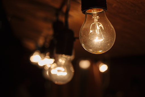 Blur, Bright, Bulb, Clear, Electricity, Energy, Evening