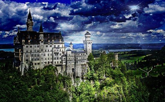 Castle, Kristin, Fairy Castle, Allgäu
