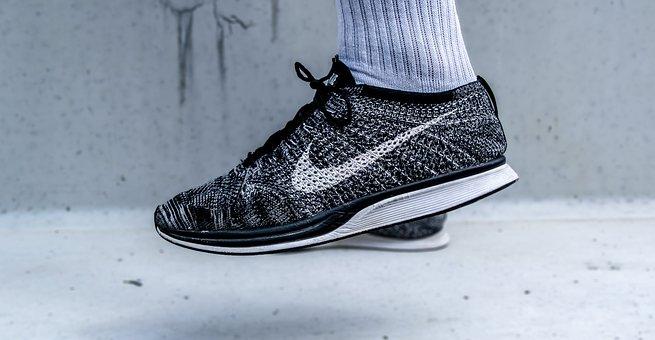 Fashion, Flyknit Racer, Foot, Footwear, Nike, Shoe