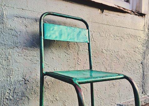 Chair, Metal, Furniture, Steel