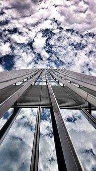 Architecture, Building, Glass, High-rise