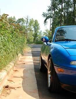 Mazda, Sports Car, Miata, Mx-5, Car, Convertible
