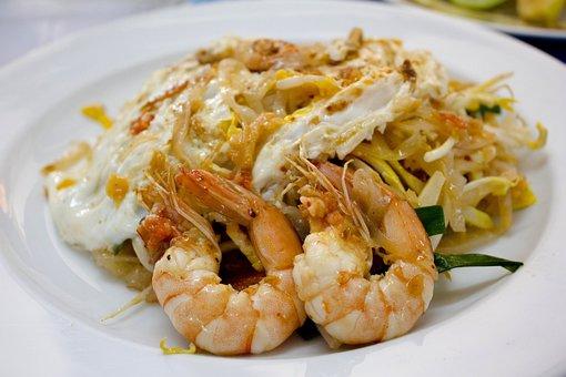 Thai, Food, Pad Thai, Noodles, Asian, Cooking