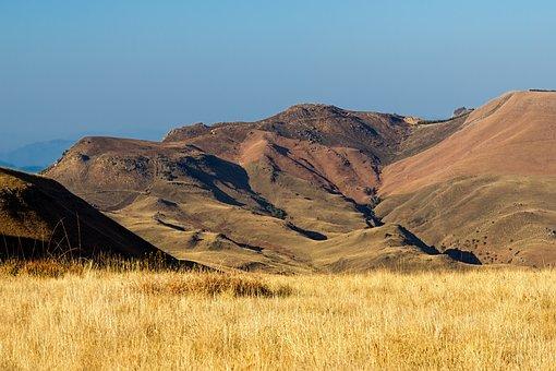 Mountains, Grassland, Landscape, Open Spaces, Solitude