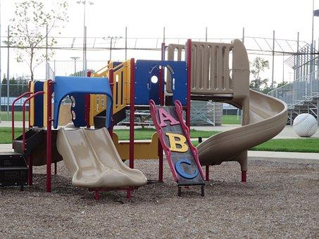 Playground, Park, Childhood, Leisure, Outdoor, Play