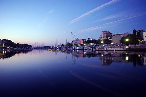 Island Of Rab, Port, Croatia, Sea, Photo, Summer