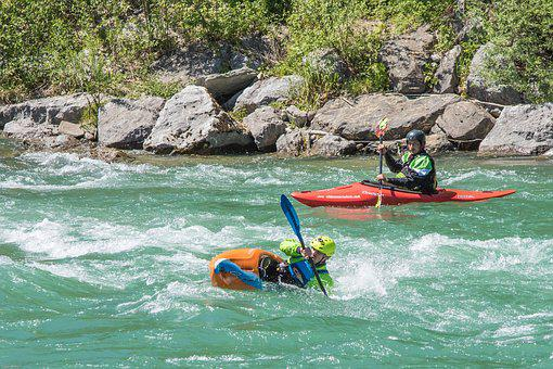 White Water, River, Canoeing, Boot, Sport, Water Sports