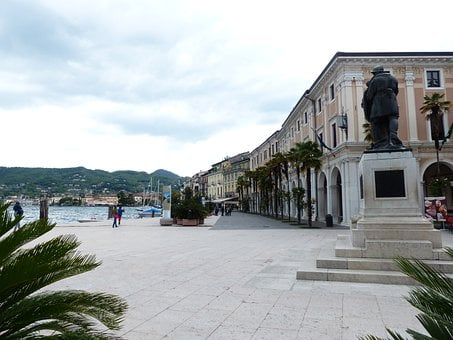 Salo, City, Promenade, War Memorial, Monument, Soldiers