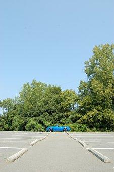 Sports Car, Mazda, Miata, Mx-5, Parking Lot, Car