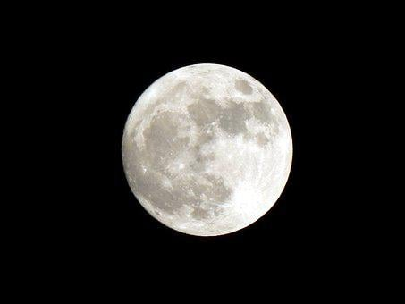 Full Moon, Supermoon, Moon, Luna, Sky, Night, Full