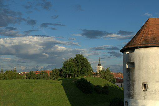 Old Town, Varazdin, Croatia, Europe, Town, Old, Baroque