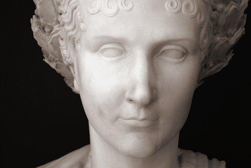 Italy, Bellagio, Como, Statue, Museum, Villa Melzi