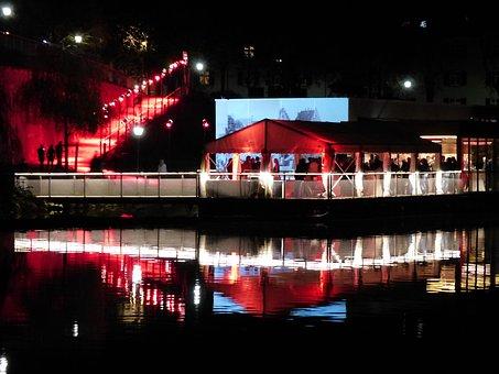 Boat, Houseboat, Gala, Celebration, Wedding Celebration