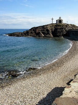 St Vincent, Chapel, Collioure, Pyrénées-orientales
