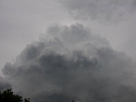 Cloud, Clouds, Dark, For Rain, Nature