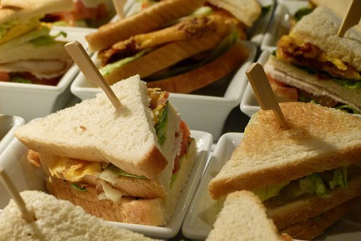 Club, Sandwich, Dine, Snack, Gastro, Buffet, Party