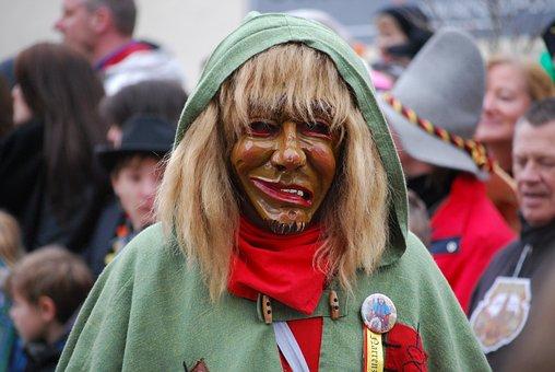 Carnival, Shrovetide, Germany, Mask, Costume