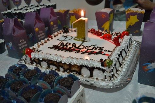 Candy, Decoration, Party, Birthday, Cake, Food