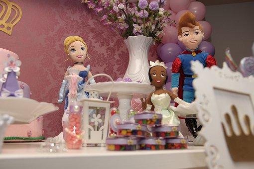 Day, Princess, Birthday, Party, Children, Disney