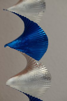 Structure, Texture, Spiral, Metallic, Garland