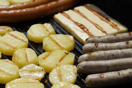 Grill, Barbecue, Sausage, Grilled Cheese, Grill Sausage