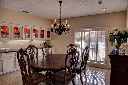 Dining Room, Room, Home, Dinner, Interior, House, Table