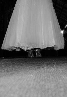 Party, Jump, Dress, Shoe