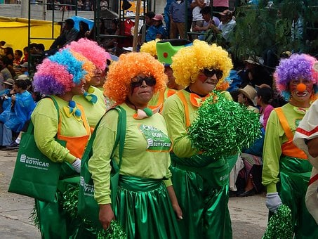 Carnival, Parade, Festival, Costume, Masquerade, Party