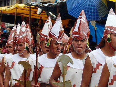 Costumes, Carnival, Cajamarca, Peru, Festival, Parade