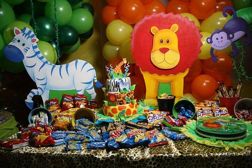Party, Candies, Balloons
