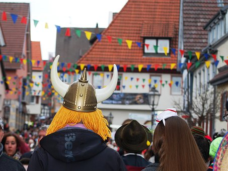 Parade, Germany, Carnival, Shrovetide, Celebration