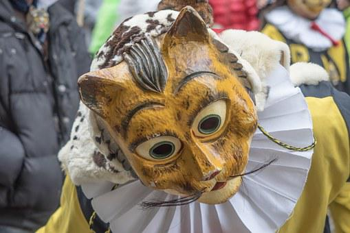 Carnival, Fasnet, Colorful, Swabian Alemannic, Mask