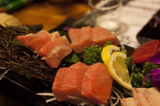 Sushi, Tuna Party, Fish