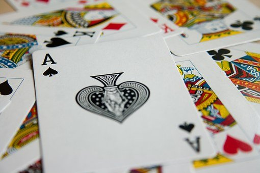 Ace, Playing Cards, Deck, Spades, Cards, Game, Spread