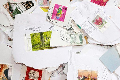 Postage Stamps, Philately, Post, Collect, Affix