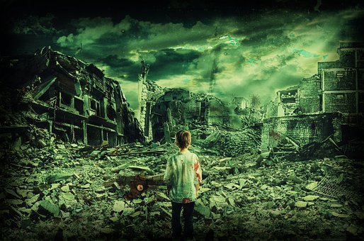 Child, Lost In War, Destroyed City, Alone, Conflict