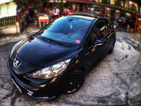Peugeot, Arba, Black, 207, Gt