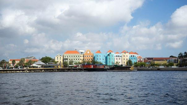 Curacao, Willemstad, Architecture, Buildings, Dutch