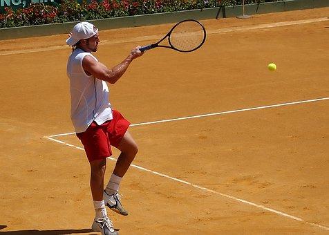 Tennis, Tennis Player, Tennis Court, Sport, Match, Ball