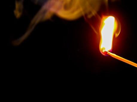 Fire, Smoke, Brand, Arson, Cloud, Tinder, Detonator