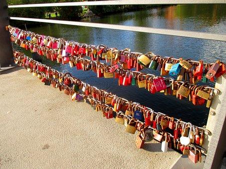 Padlocks, Bridge, Love Locks, Love, Friendship
