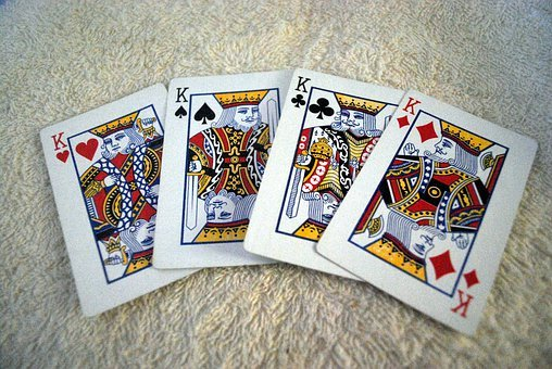 King, Kings, Cards, Card, Playing, Heart, Spade, Club
