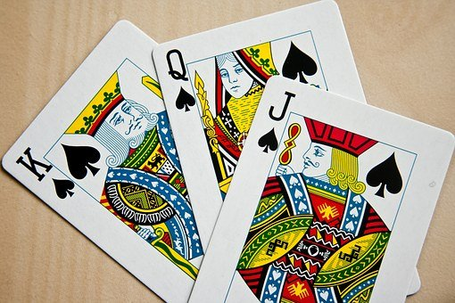 Playing Cards, Cards, High Cards, Spades, Three, Jack
