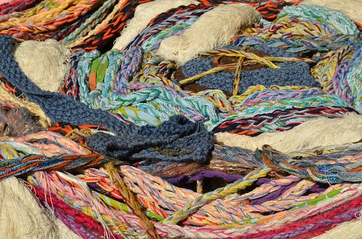 Yarn, Wool, Cotton, Thread, Textile, Structure, Color