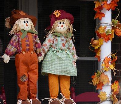 Decoration, Scarecrow, Autumn, Harvest, Season